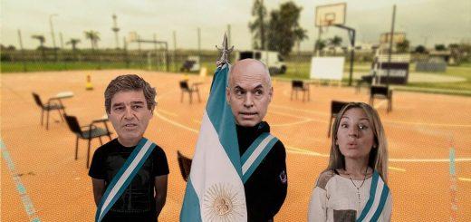 Larreta, Acuña y Quiros